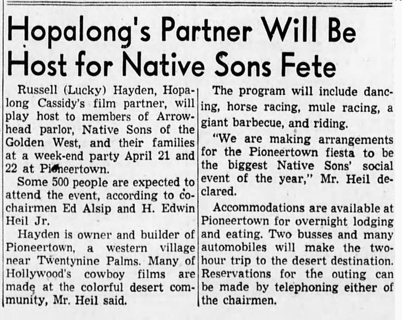 1951 Mar 25 - The San Bernardino County Sun