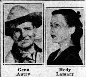 Gene Aurty Hedy Lamarr