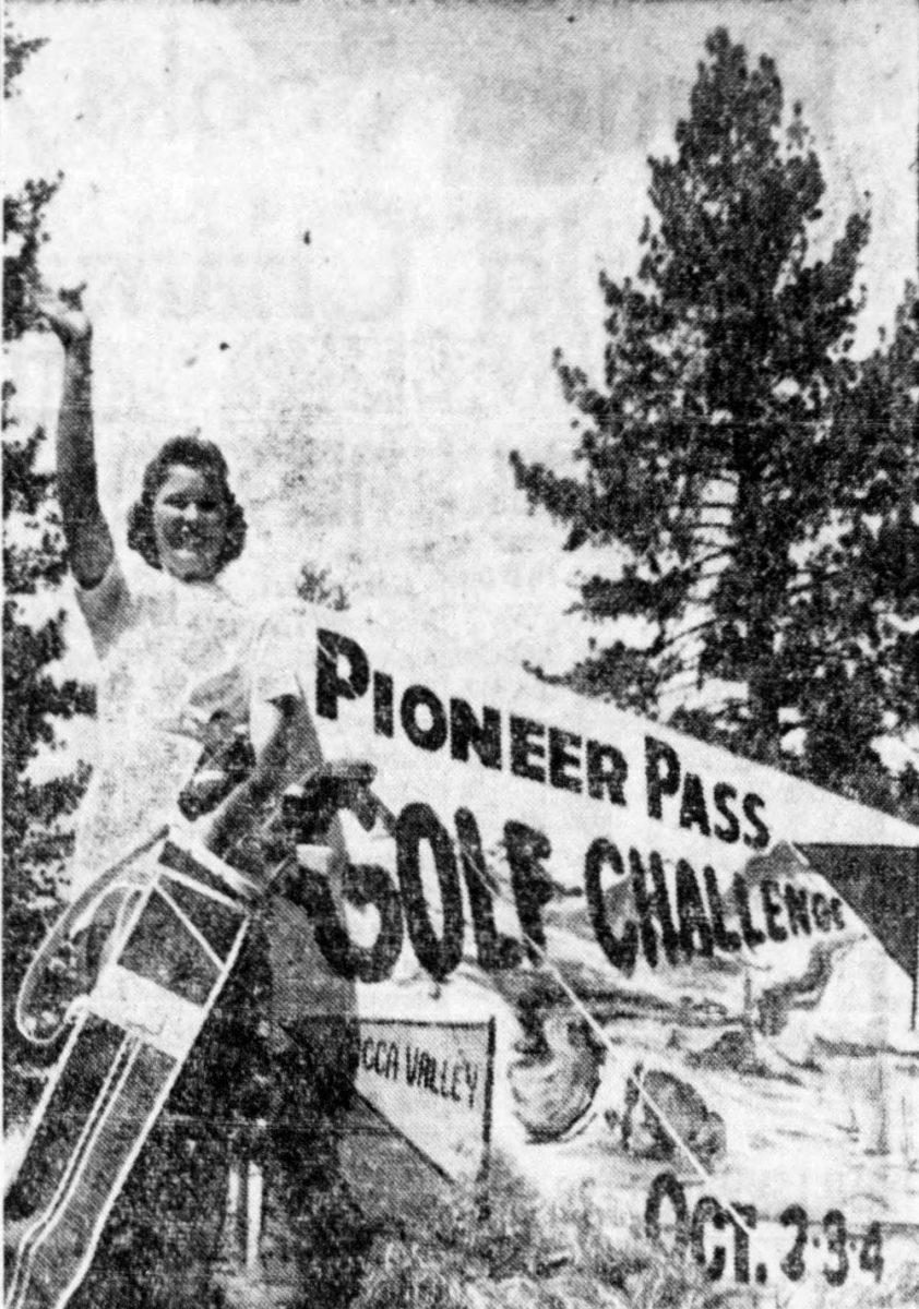 1959 Golf Girl