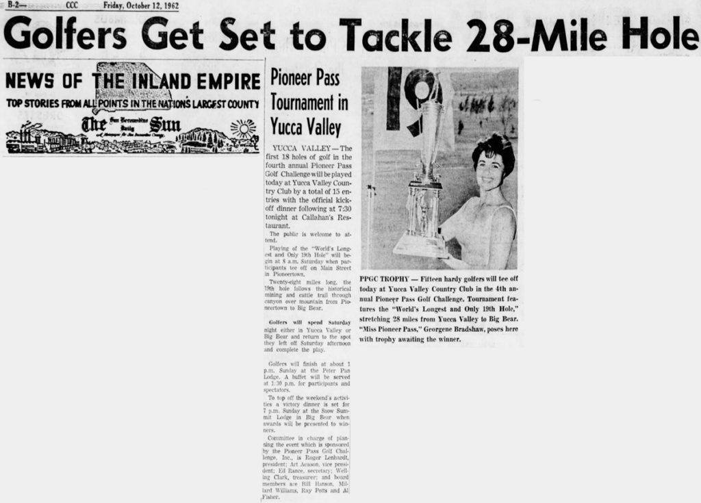 Oct. 12, 1962 article clipping