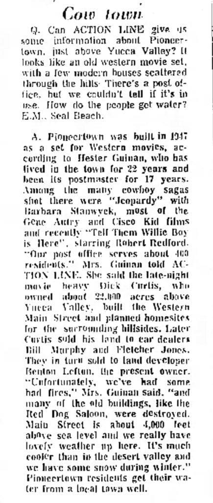 Jul. 18, 1971 - Independent Press Telegram article clipping