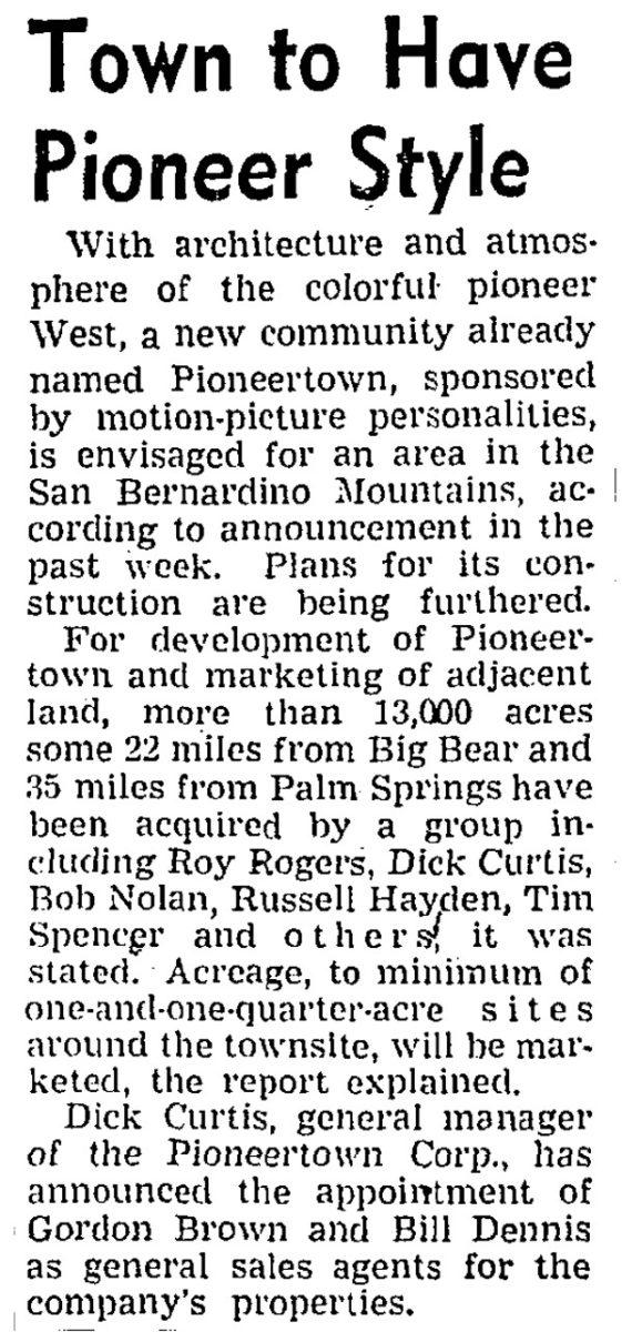 Feb. 23, 1947 - LA Times article clipping