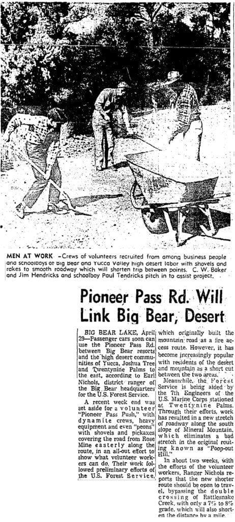 Apr. 30, 1959 - LA Times article clipping