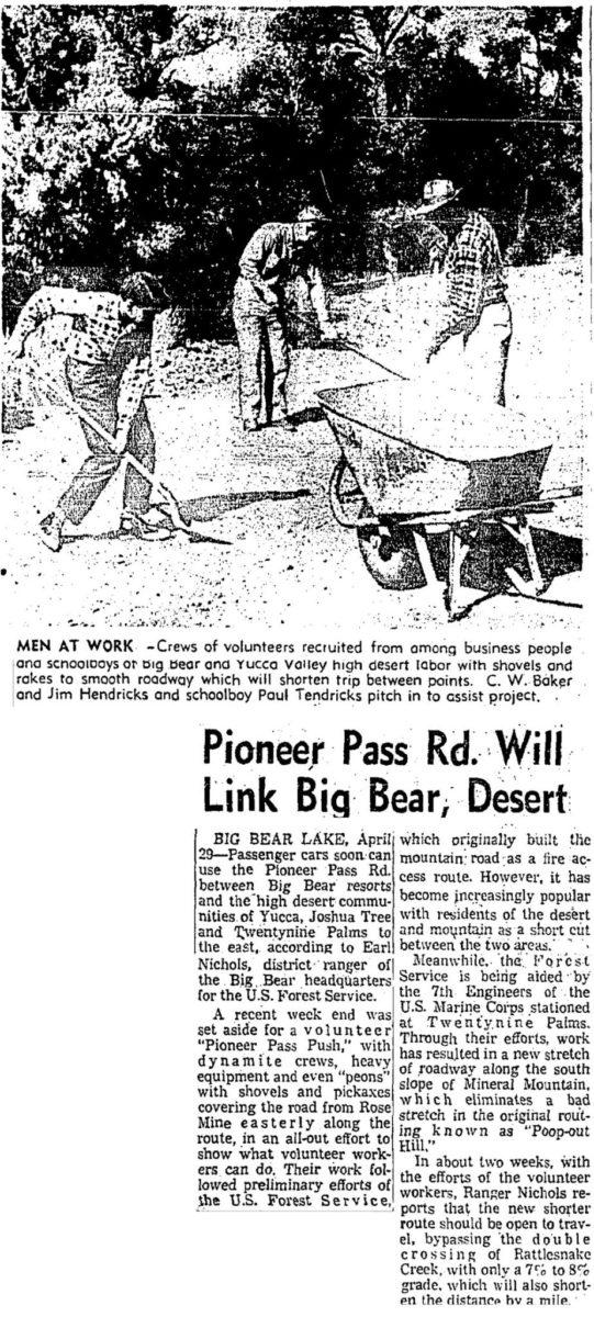 Apr. 30, 1959 - LA Times article clipping
