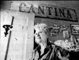 Mary Gaffney stands in the doorway image