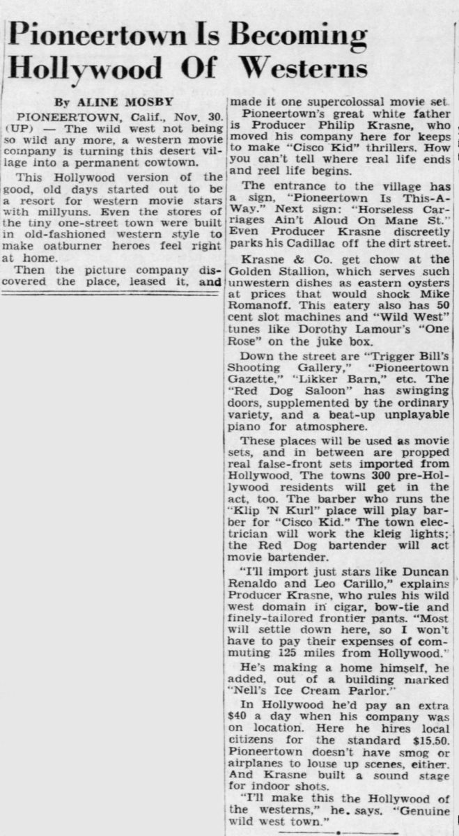 Dec. 1, 1948 - Asheville Citizen Times article clipping