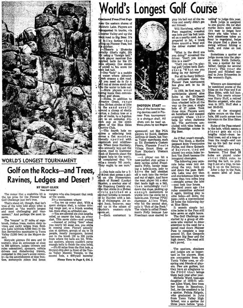 Oct. 11, 1974 - The Los Angeles Times article clipping