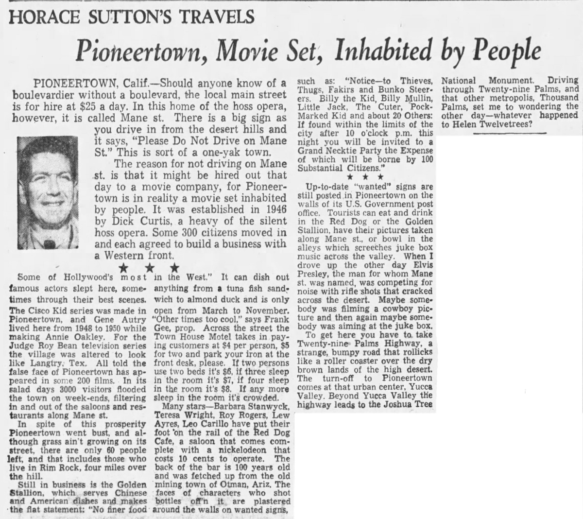 Mar. 24, 1957 - The Boston Globe article clipping