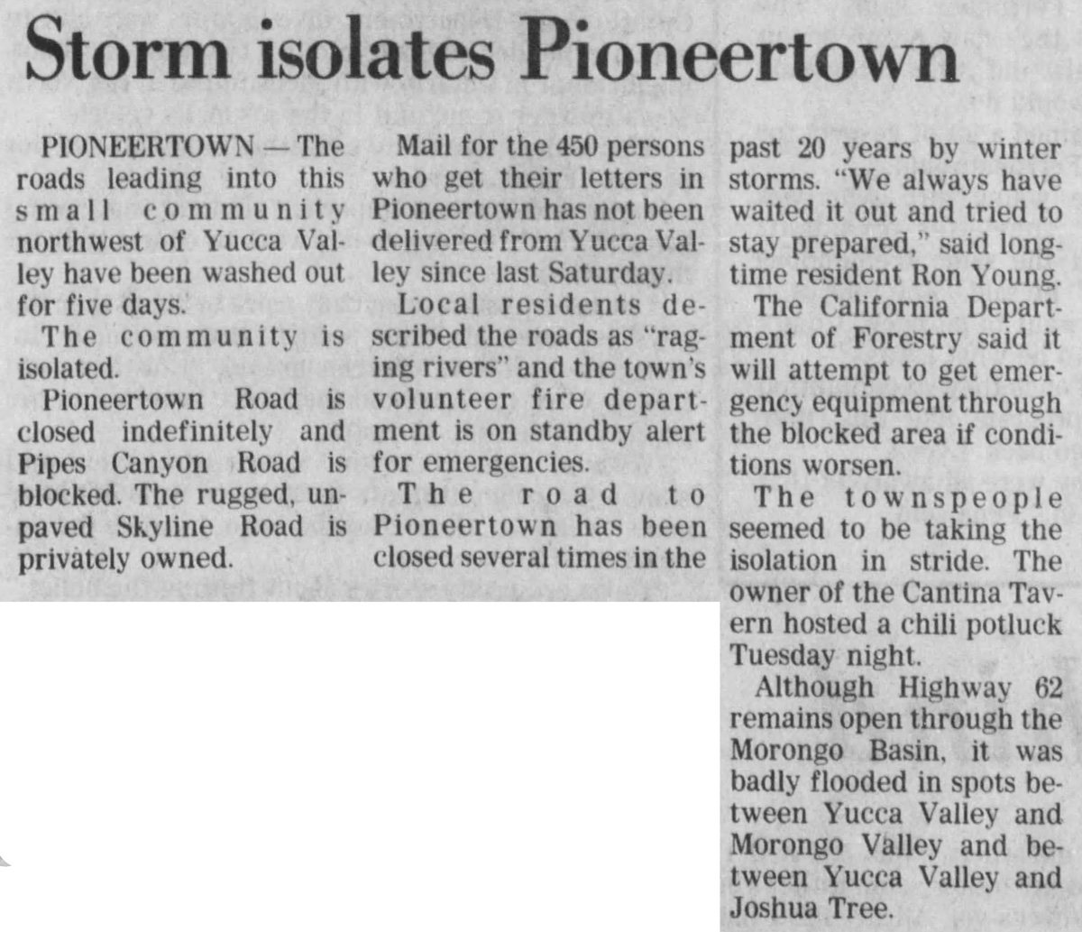Feb. 21, 1980 - The San Bernardino County Sun article clipping