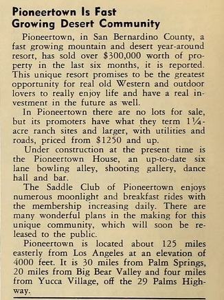 1947 - the Grizzly Bear newspaper clipping